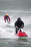 Competência de barco do jato Fotos de Stock Royalty Free