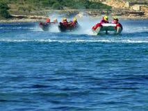 Competência de barco do poder de Thundercat Foto de Stock