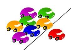 Competência de carro. Imagens de Stock Royalty Free