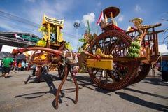 Competência do búfalo do festival Imagem de Stock Royalty Free