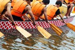 competência do Dragão-barco Fotografia de Stock Royalty Free