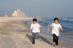 Competência dos meninos Imagens de Stock Royalty Free