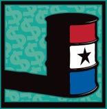 Competência grande do tambor do dinheiro ilustração royalty free