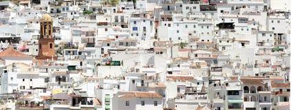 competa Ισπανία Στοκ φωτογραφία με δικαίωμα ελεύθερης χρήσης