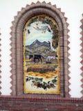 Competa Mural Stock Image