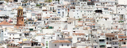 Competa, spain Royalty Free Stock Photography