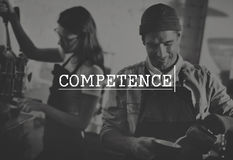 Competence Ability Skill Talent Experience Performance Concept Stock Images