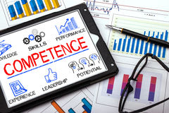 Competence concept Royalty Free Stock Photography
