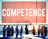 Competence Skill Ability Proficiency Accomplishment Concept Royalty Free Stock Images