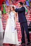 Competencia 2010 de belleza de Srta. Rusia Imágenes de archivo libres de regalías