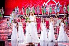 Competencia 2010 de belleza de Srta. Rusia imagen de archivo libre de regalías