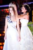 Competencia 2010 de belleza de Srta. Rusia Foto de archivo libre de regalías