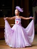 Competencia de belleza de los niños Imagen de archivo libre de regalías