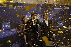 COMPETENCIA DE CANCIÓN DE LA EUROVISIÓN 2014 Foto de archivo libre de regalías