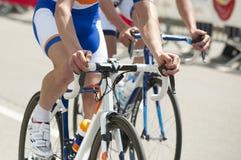 Competencia de ciclo Foto de archivo libre de regalías