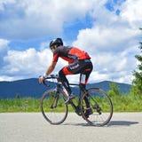 Competencia de ciclo del camino Imagen de archivo