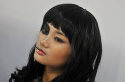 Competencia de Cosplay en Indonesia Imagen de archivo libre de regalías