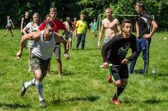 Competencia de deportes en la región de Kaluga en Rusia fotos de archivo libres de regalías