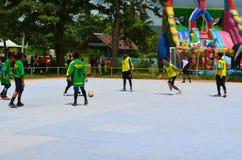 Competencia de Futsal Fotos de archivo libres de regalías