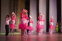 Competencia de la danza de DancePower, Minsk, Bielorrusia Imágenes de archivo libres de regalías