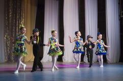 Competencia de la danza de DancePower, Minsk, Bielorrusia Fotografía de archivo libre de regalías