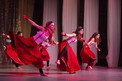Competencia de la danza de DancePower, Minsk, Bielorrusia Fotos de archivo libres de regalías