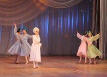 Competencia de la danza de los niños Fotografía de archivo libre de regalías