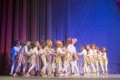 Competencia de la danza de MegaDance, Minsk, Bielorrusia Imagenes de archivo