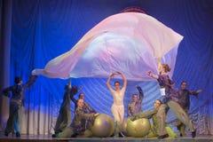 Competencia de la danza de MegaDance, Minsk, Bielorrusia Fotografía de archivo libre de regalías