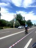 Competencia de la lava del festival de la bici de Mamaia fotografía de archivo