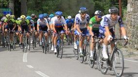 Competencia de la competencia y del ciclo para los aficionados almacen de video