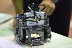 Competencia del robot Fotografía de archivo libre de regalías