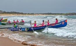 Competencia del rowing de la resaca Imagenes de archivo