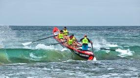 Competencia del rowing de la resaca Imagen de archivo libre de regalías