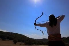 Competencia del tiro al arco en Turquía Fotos de archivo