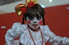 Competencia del traje del animado en Indonesia Fotografía de archivo