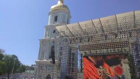 Competencia 2017 - Kiev de la canción de la Eurovisión, Ucrania Imágenes de archivo libres de regalías