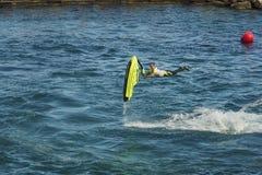 Competencia libre Roberto MARIANI del estilo del esquí del jet fotos de archivo