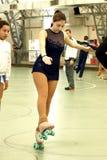 Competencia patinadora Imagenes de archivo