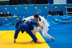 Competencias del judo Imagen de archivo