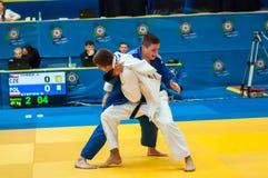 Competencias del judo Imagen de archivo libre de regalías