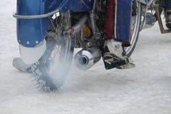 Competencias en carretera del hielo Fotografía de archivo libre de regalías