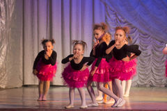 Competencias en coreografía en Minsk, Bielorrusia Fotografía de archivo