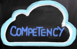 Competency Concept Stock Image