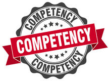 Competency stamp Stock Photos