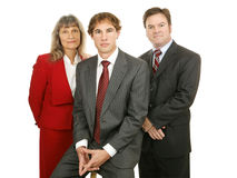Competent Business Team Stock Photography