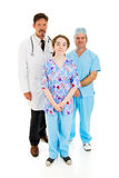 Competent Medical Staff Royalty Free Stock Photo