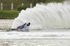 Competição 2011 de Waterski do Asian Imagens de Stock