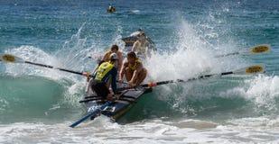 Competição australiana da liga dos remadores da ressaca Fotos de Stock