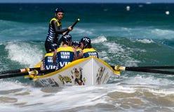 Competição australiana da liga dos remadores da ressaca Imagem de Stock Royalty Free